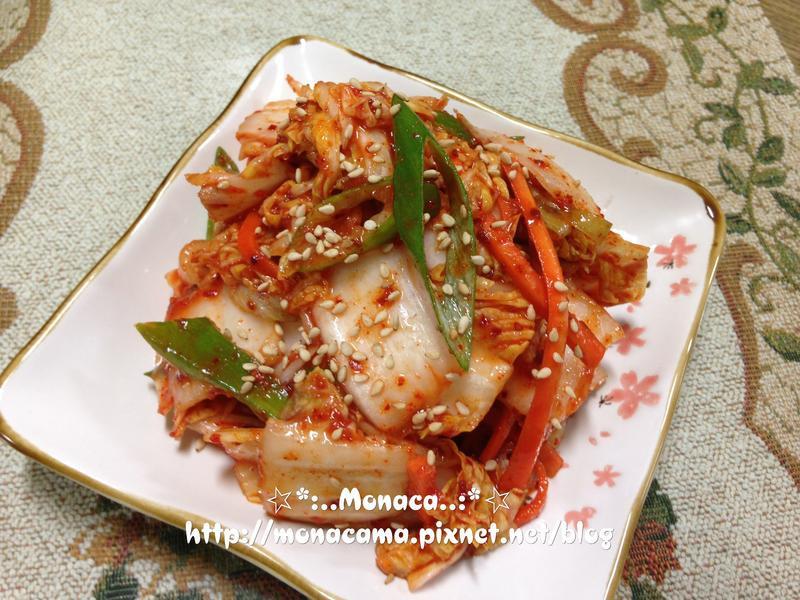 韓式大白菜生泡菜배추겉절이