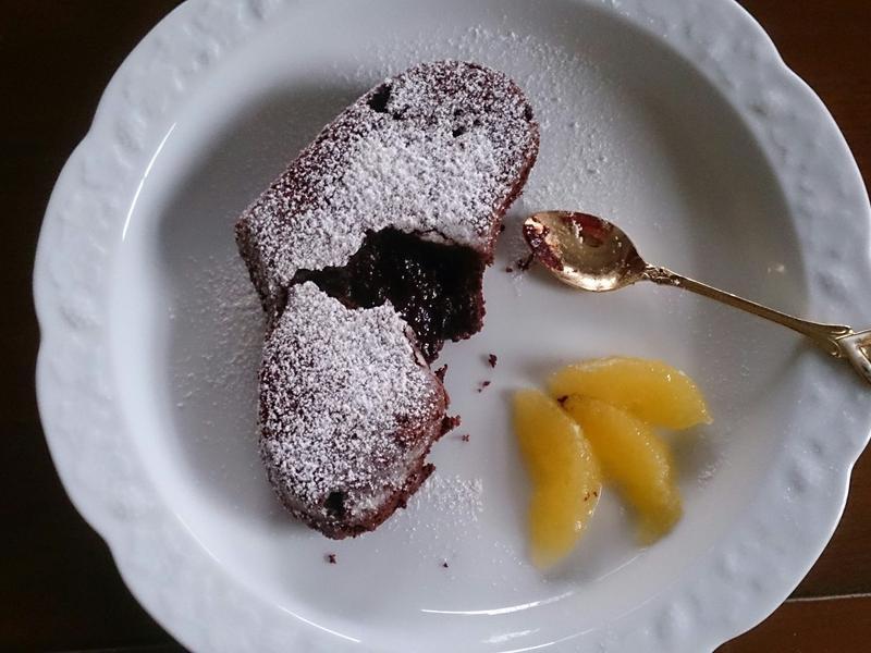 小烤箱巧克力熔岩蛋糕「烘焙展西式食譜」