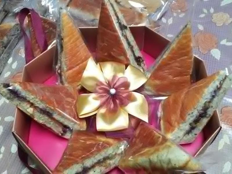 香栗雙莓松子蛋糕【烘焙展西式食譜】