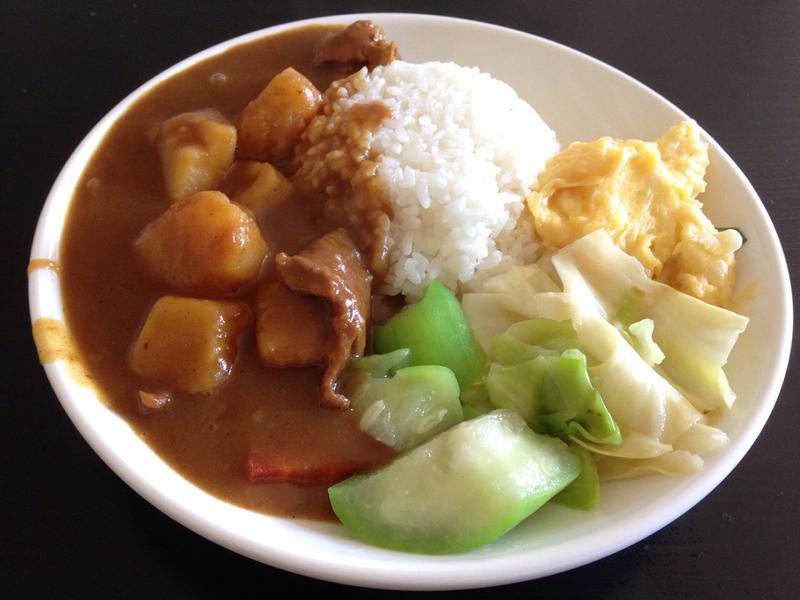 【電鍋料理】牛肉咖哩飯