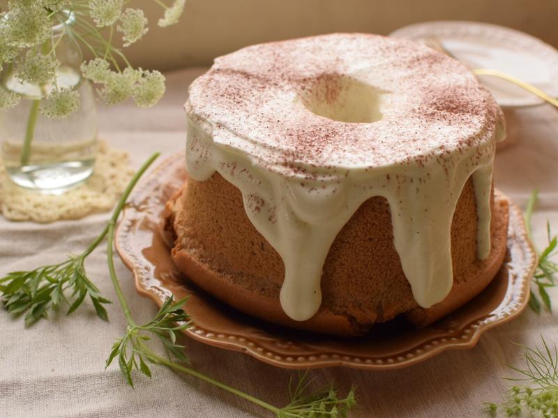 伯爵超軟戚風蛋糕(燙麵) 烘焙展西式食譜