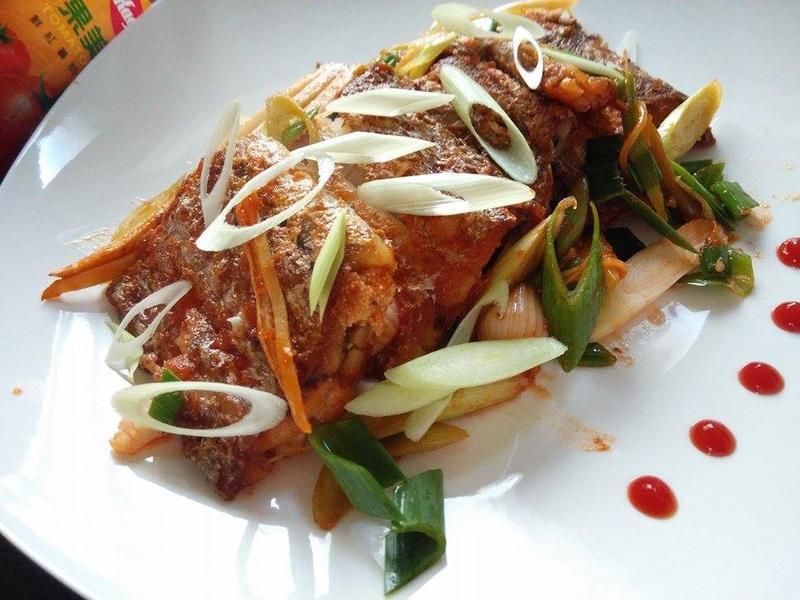 茄汁白帶魚-蕃茄醬懶人料理