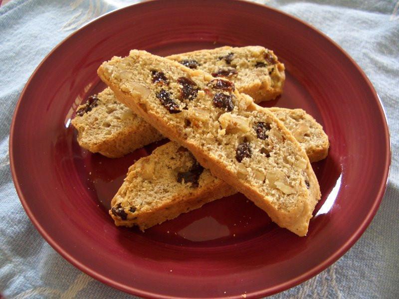 葡萄乾核桃義式餅乾