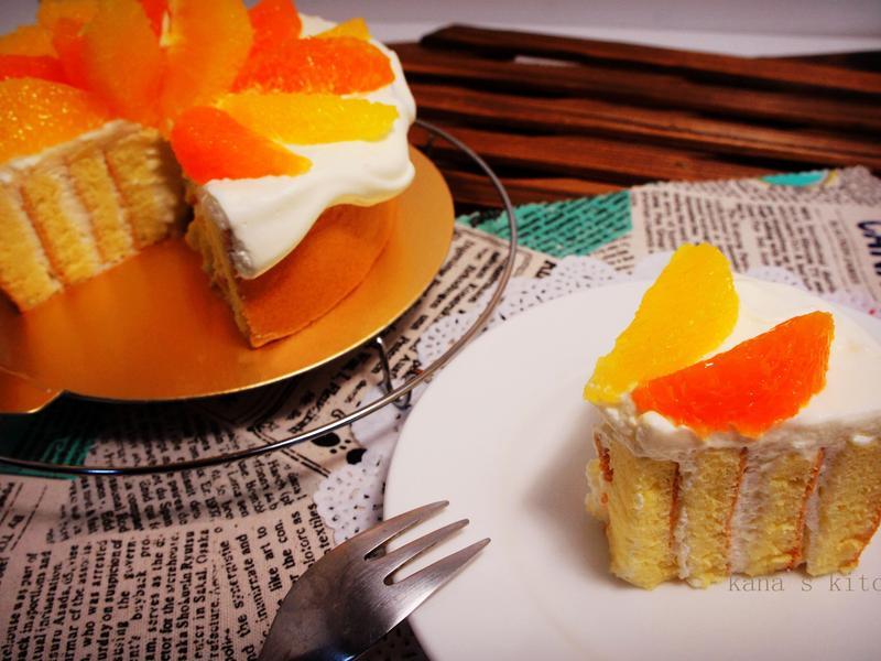 甜橙橘瓣漩渦蛋糕【烘焙展西式食譜】