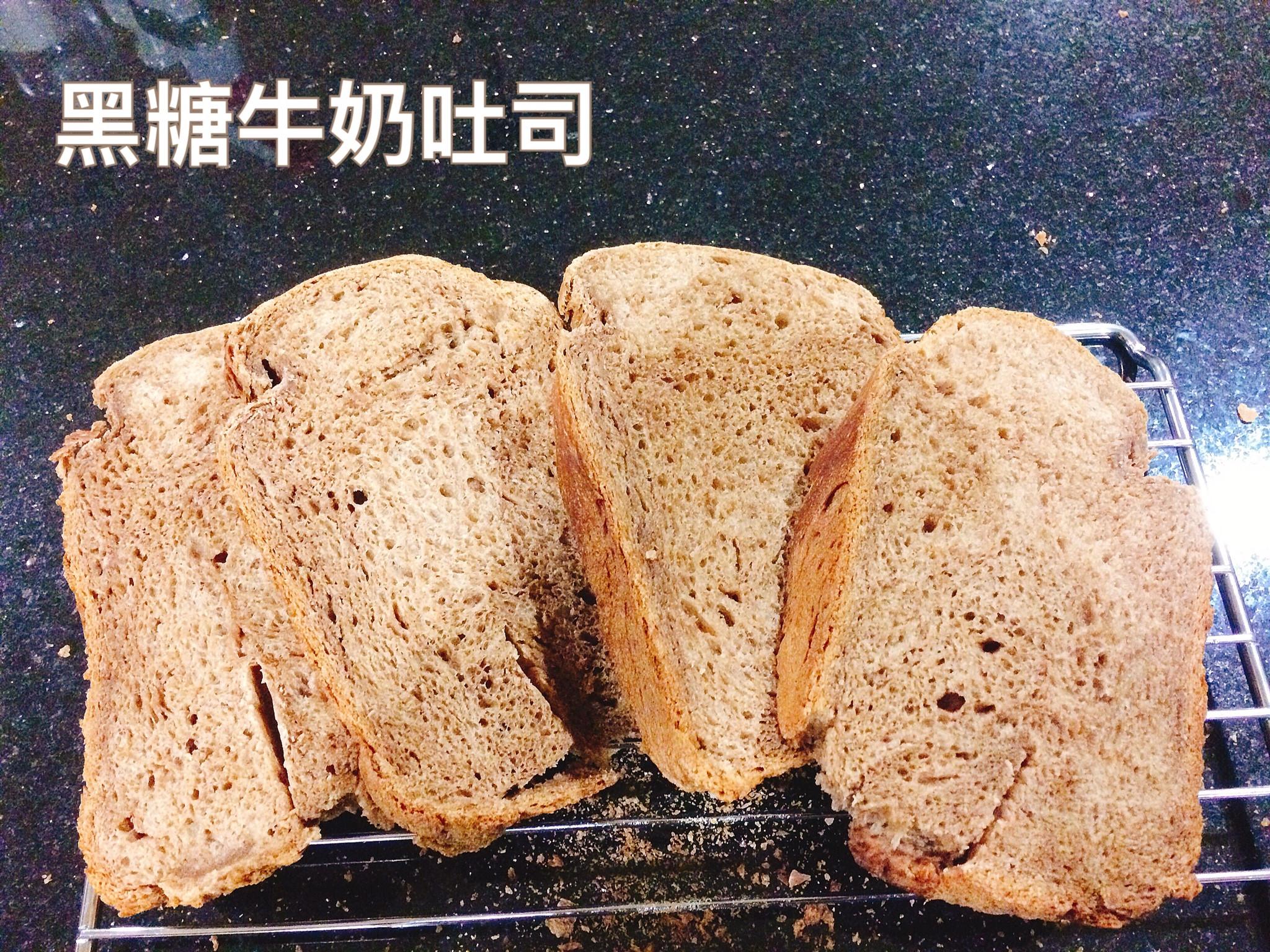 黑糖牛奶吐司-Panasonic 麵包機