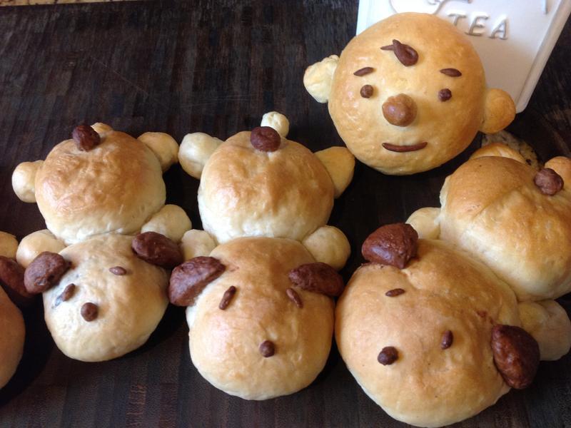 史努比.查理.布朗芝麻麵包❤!!!