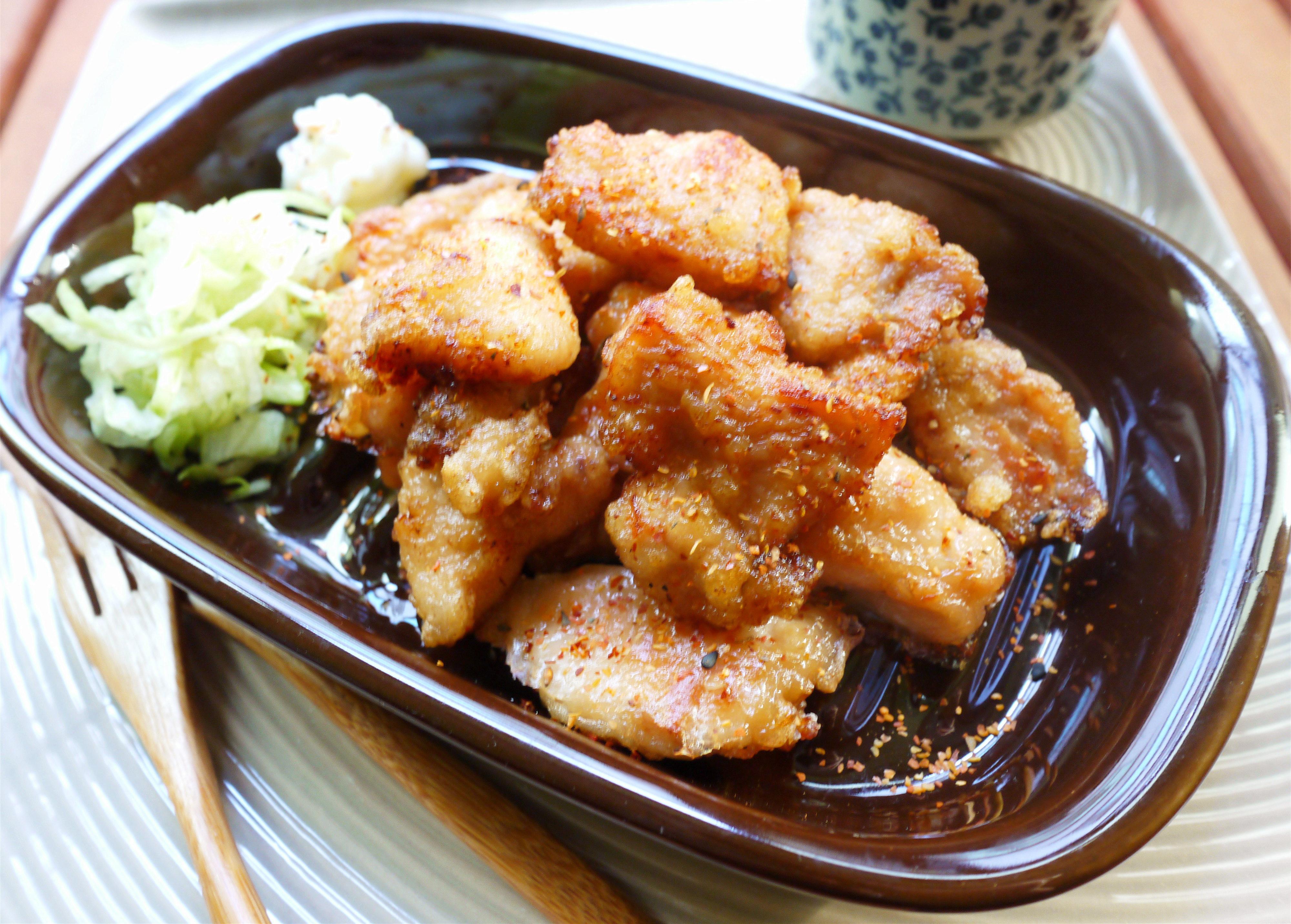 日式蒜香炸雞【大同全功能蒸烤箱】