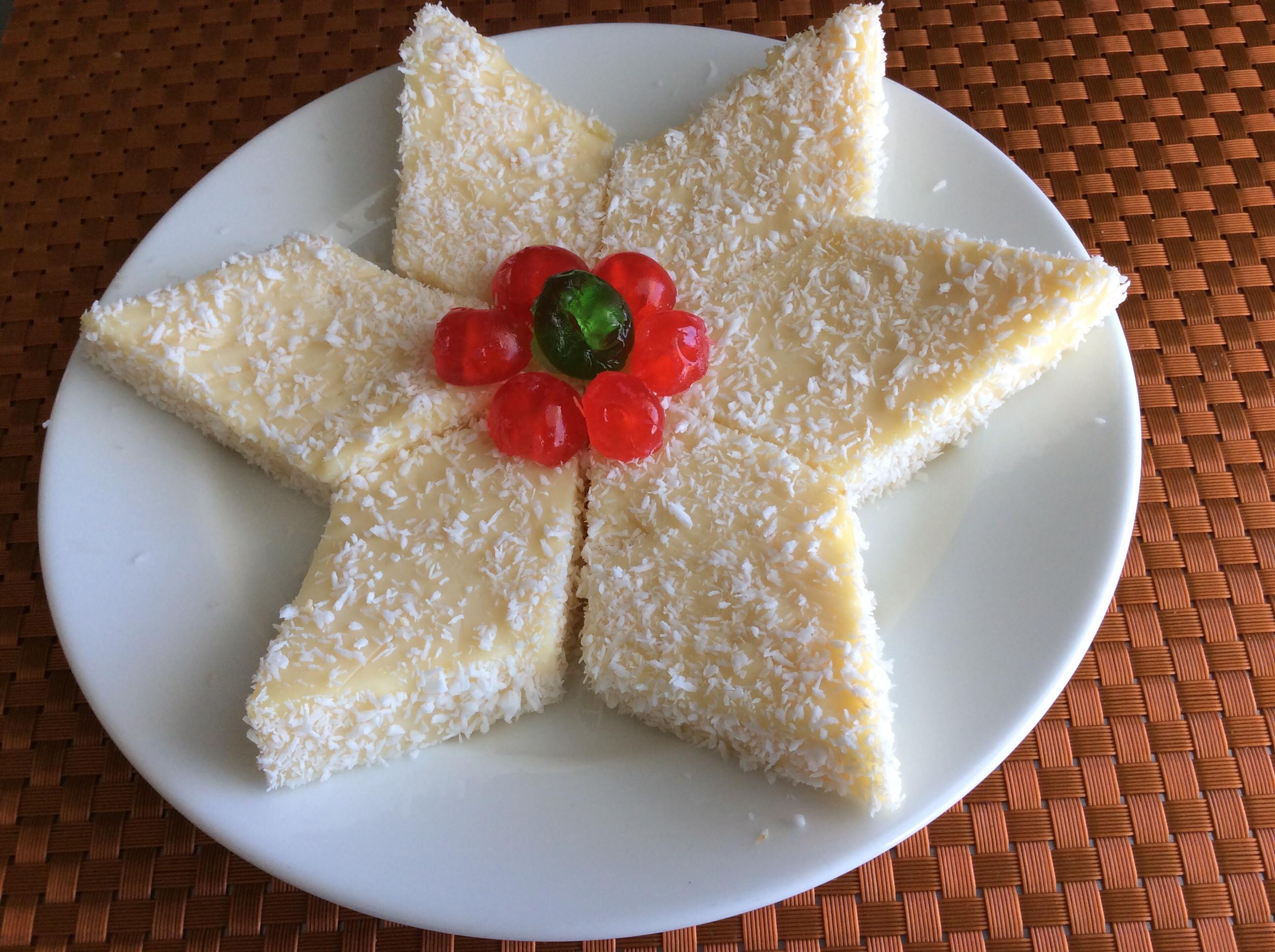 椰絲雪花糕