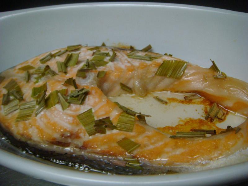 檸檬香茅鮭魚