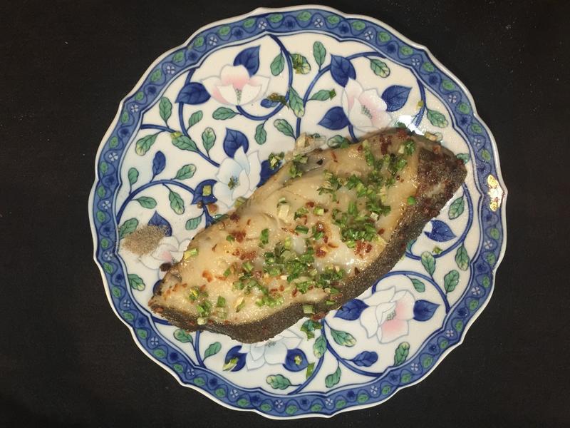 5分鐘的蒜香鱈魚
