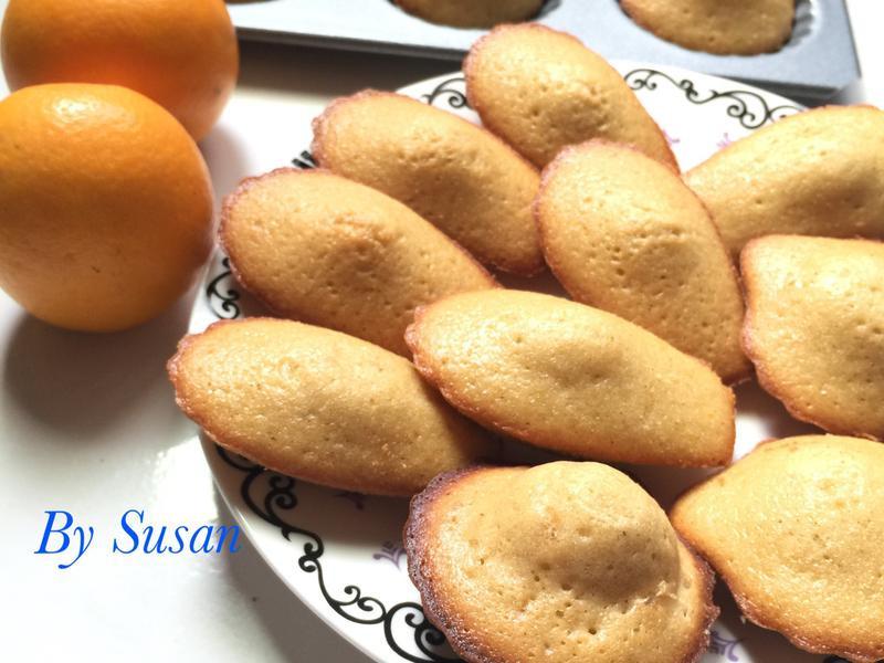 香橙瑪德蓮(焦化奶油)