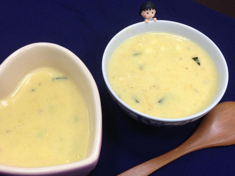 【廚男料理筆記】酥皮南瓜玉米濃湯
