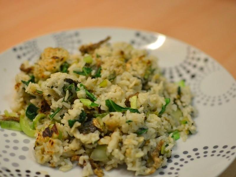[留學生電鍋食譜] 英國風上海菜飯