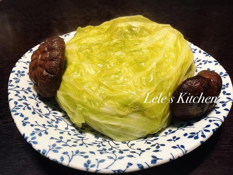 【電鍋料理 保證成功】整顆高麗菜