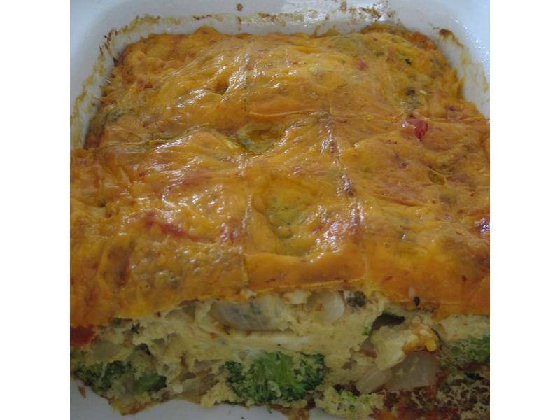 無肉蔬菜義式蛋餅