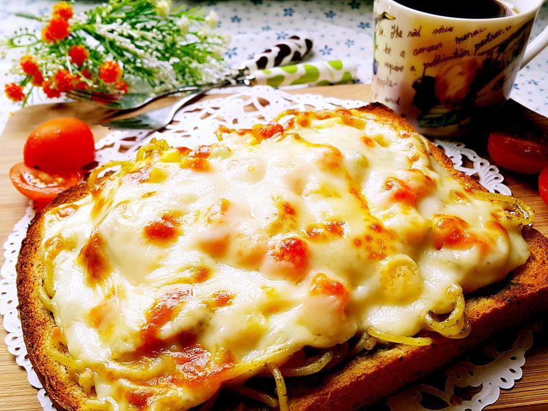 方塊奶油義大利麵_小七食堂