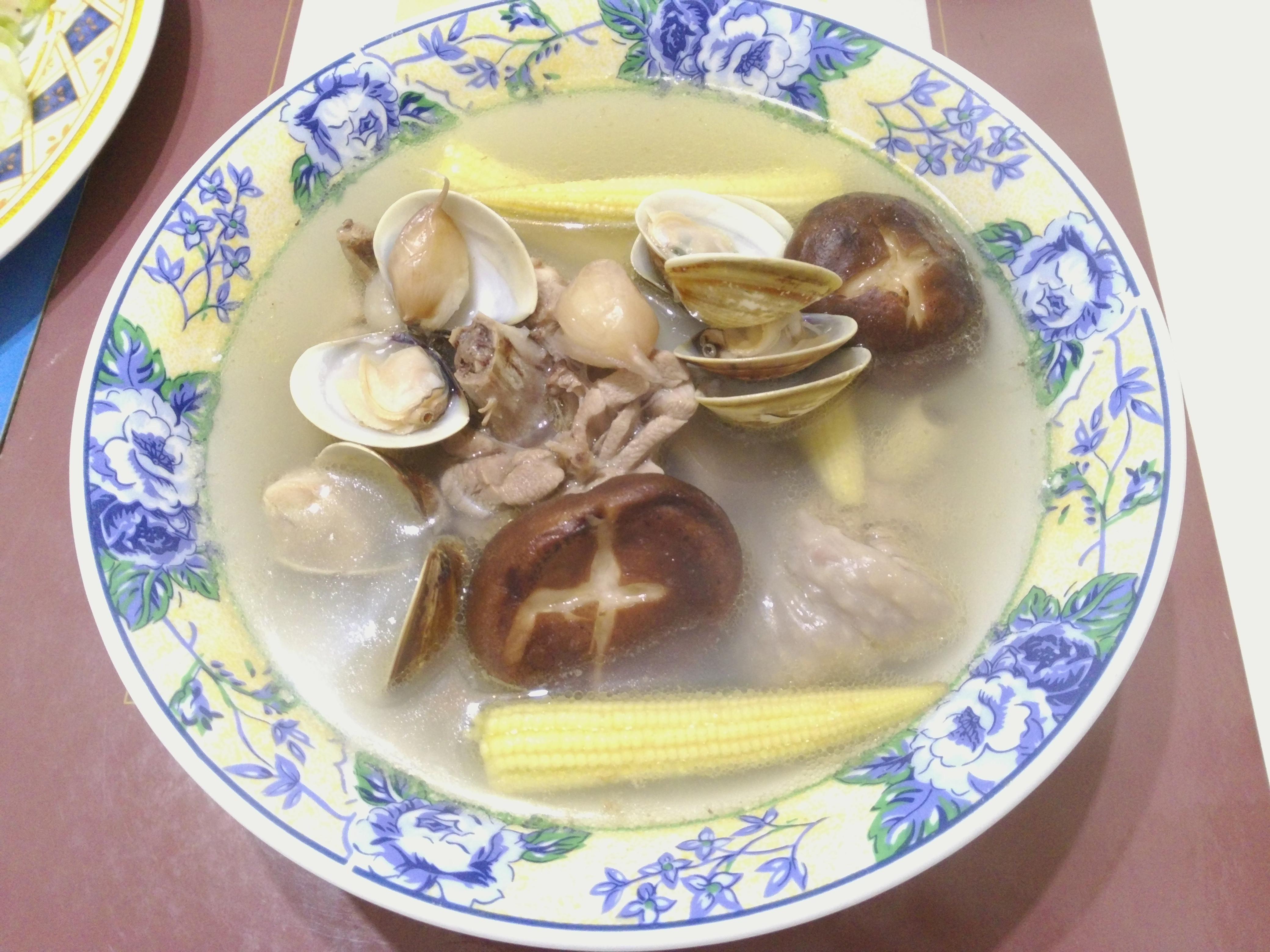 蒜頭蛤蜊雞腿湯(全聯料理王大賽)