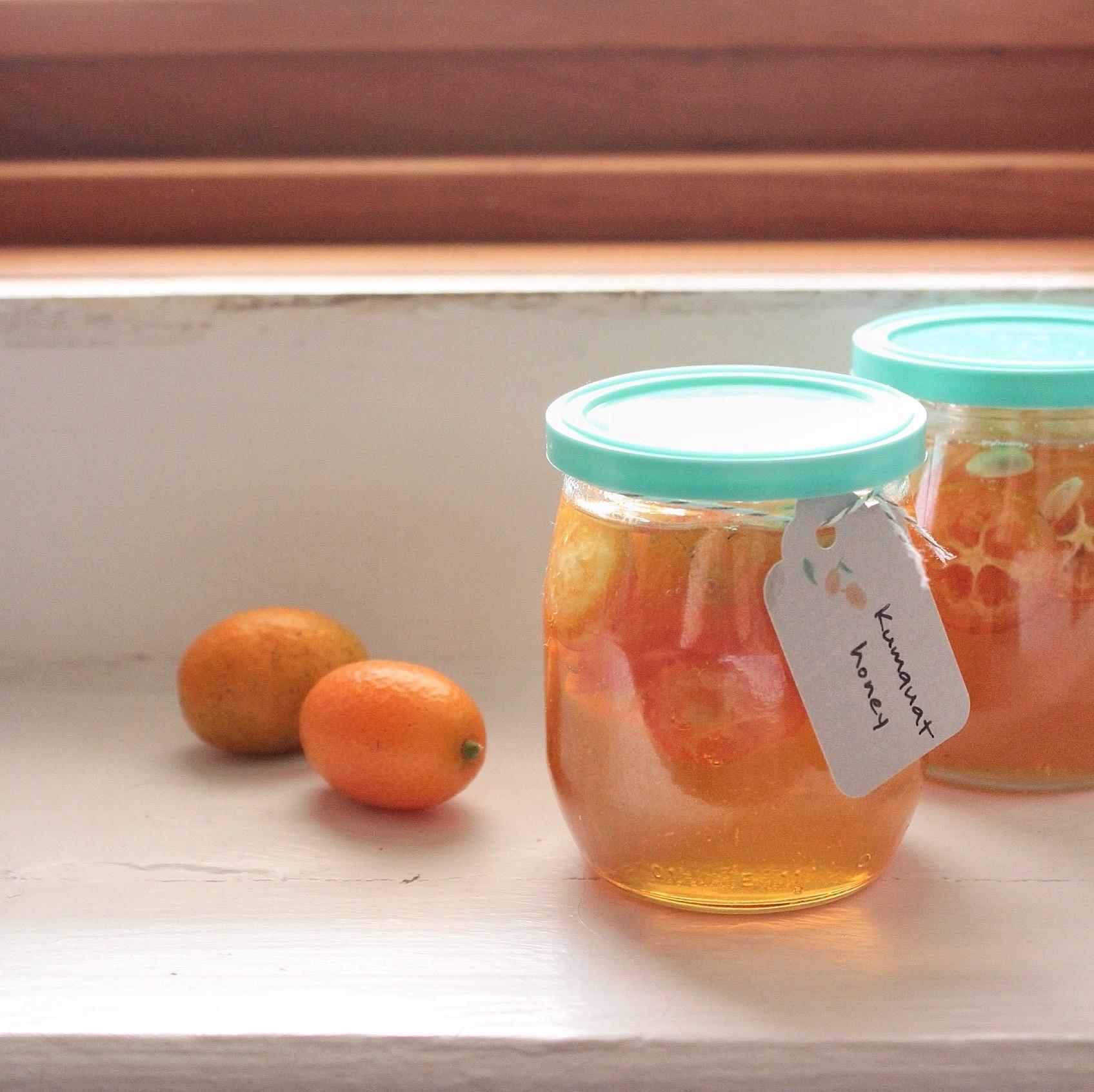 自製金桔蜂蜜