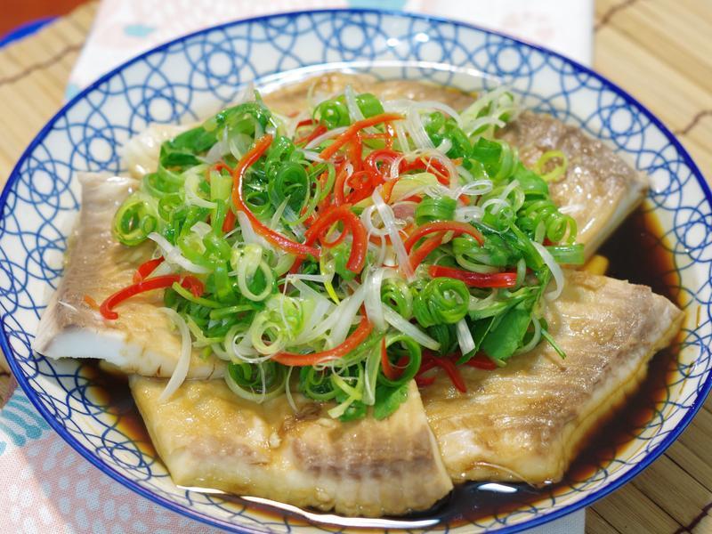 油嗆蔥香魚~