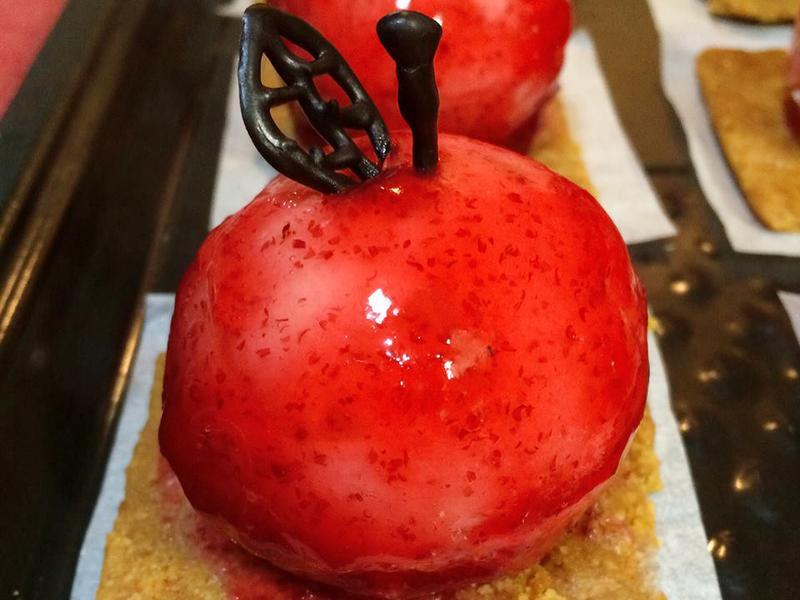 3點1刻 蘋果慕斯蛋糕