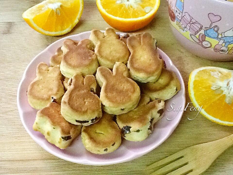蜂蜜蔓越莓餅乾(無油無糖)