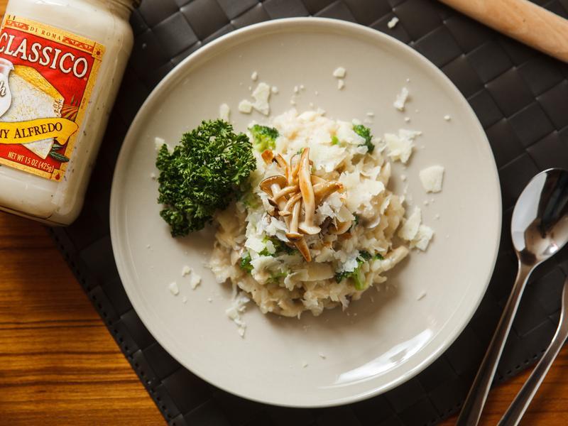 奶油白醬燉飯_CLASSICO義麵醬