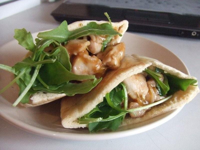 .゚+:✿。.留學生食譜の芒果醬雞肉口袋餅.゚+:✿。.゚