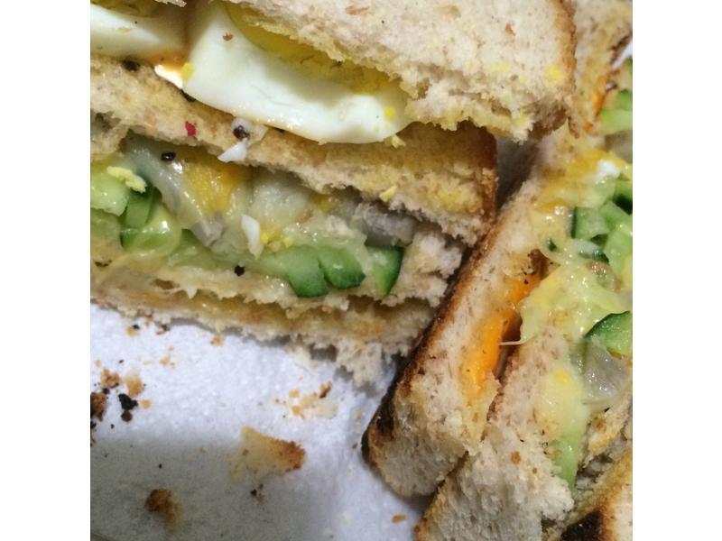 層層起司三明治🍞