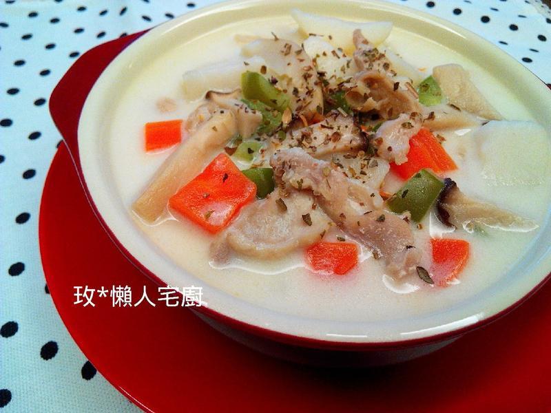 【電磁爐X懶人】白醬燉菜 『全聯料理王』