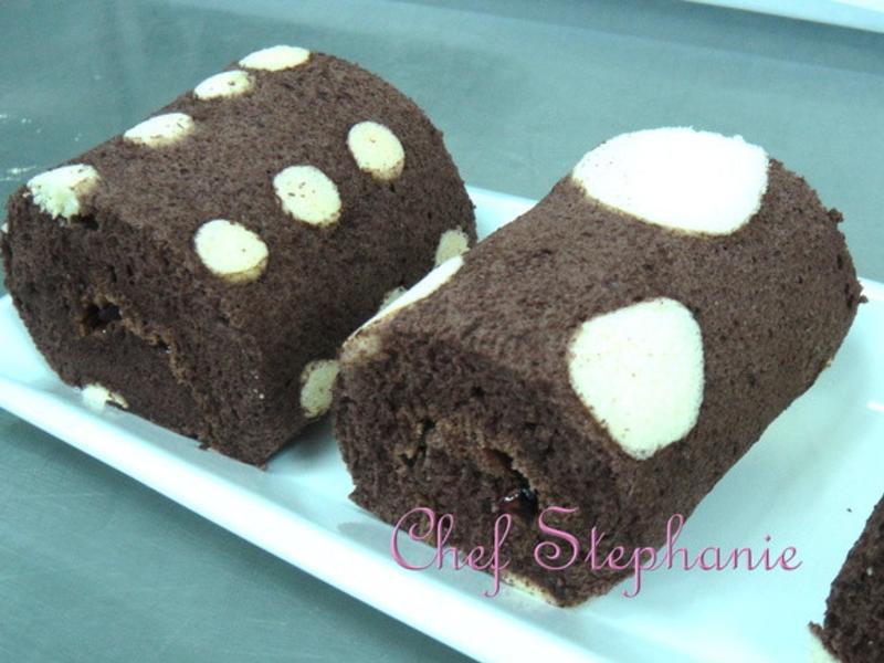 點點巧克力蛋糕捲