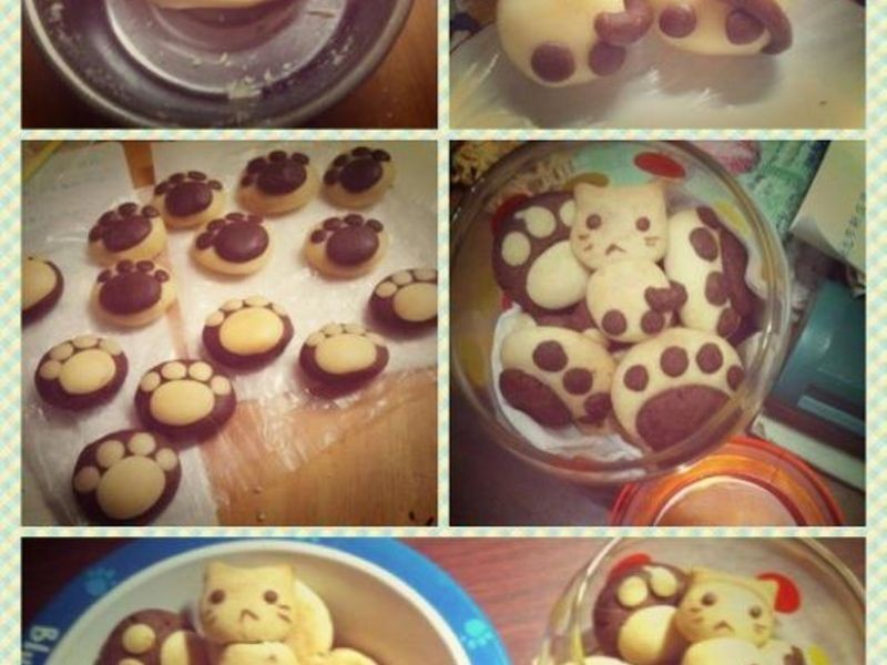[喵♥ 吃我好嗎?]---療癒系列貓掌餅乾