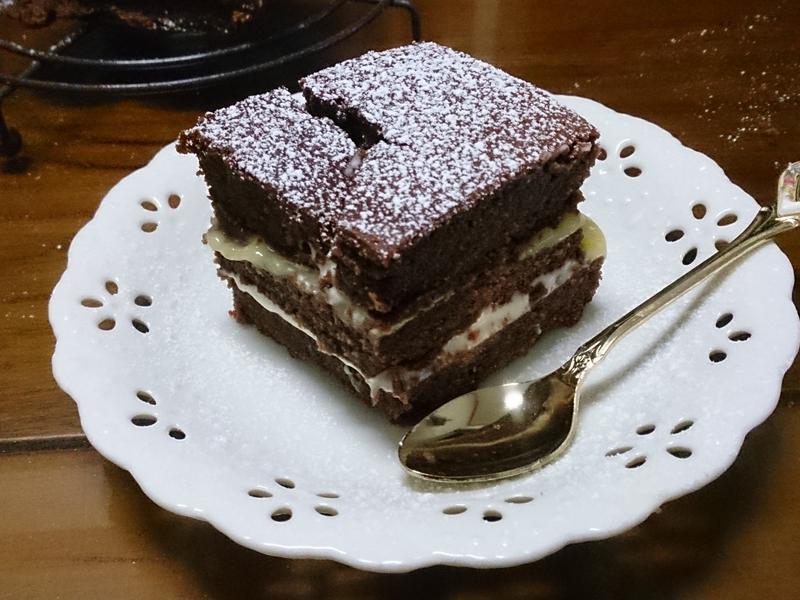 小烤箱-乳酪夾心巧克力蛋糕