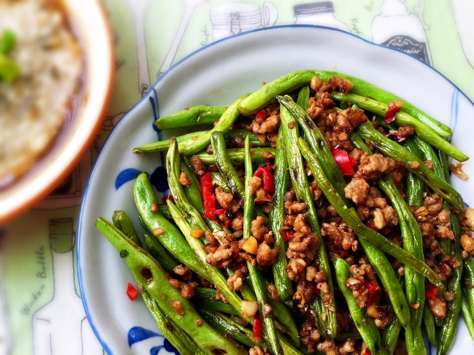 乾煸四季豆(不用油炸)