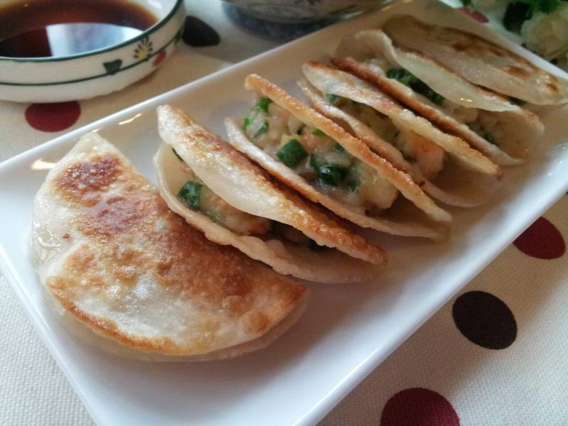 韮菜鮮蝦 open 煎餃