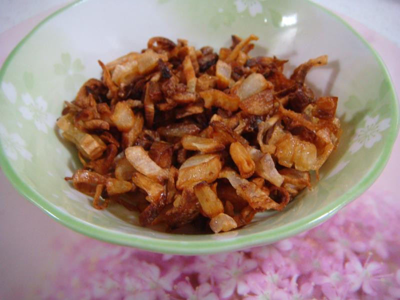 自製紅蔥酥(油蔥酥)