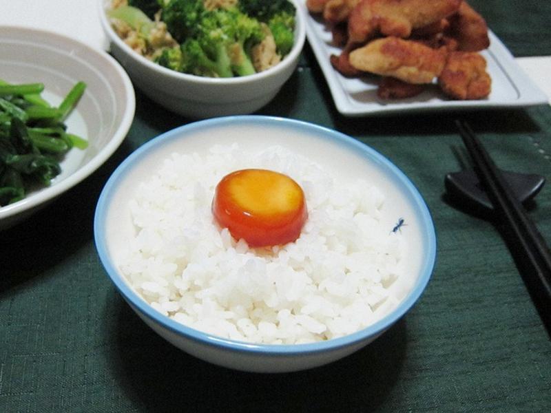 醬油漬蛋黃