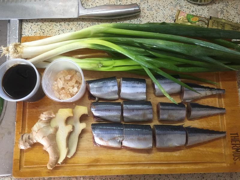 化骨秋刀魚甘露煮