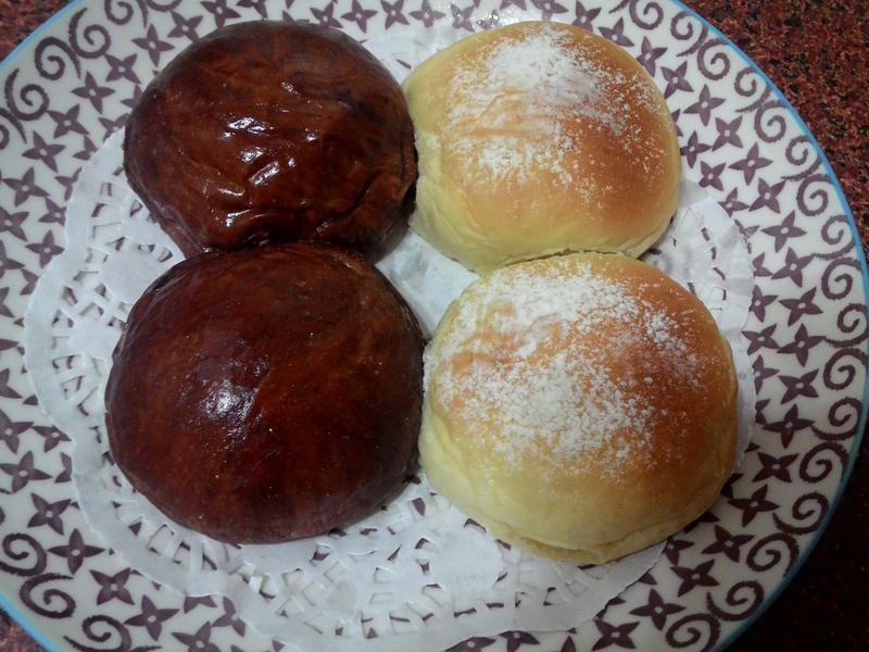 超鬆軟小餐包 ~ 葡萄奶酥 & 黑眼豆豆