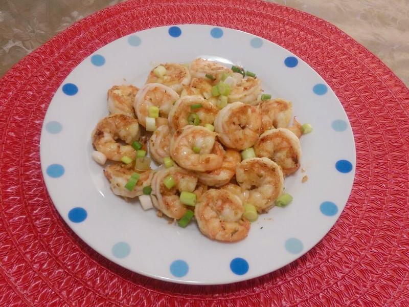 奶油蒜香蝦