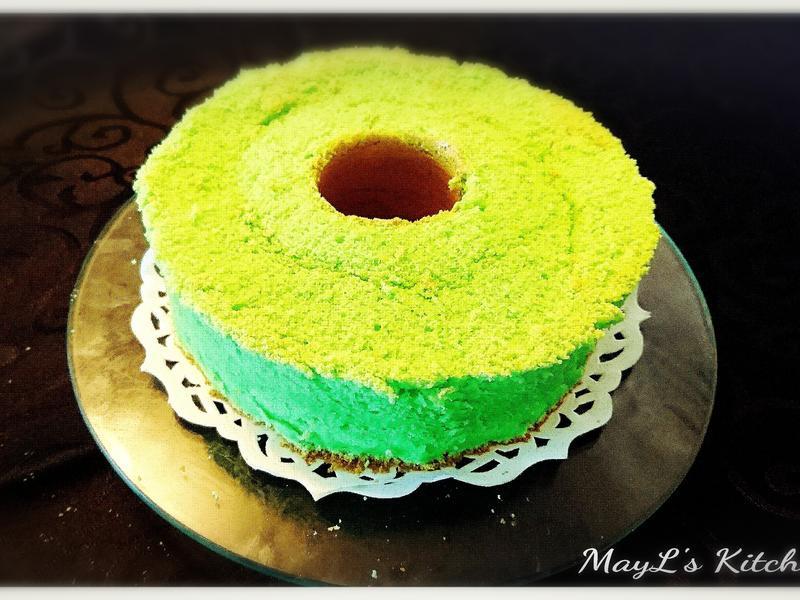 椰香斑蘭戚風蛋糕