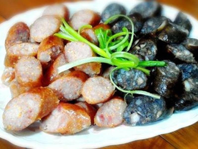 飛魚卵香腸【澎湖野生水產】