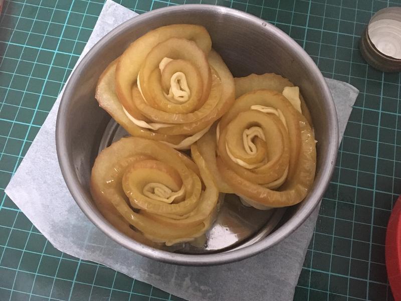 動手做❤️起酥玫瑰蘋果派
