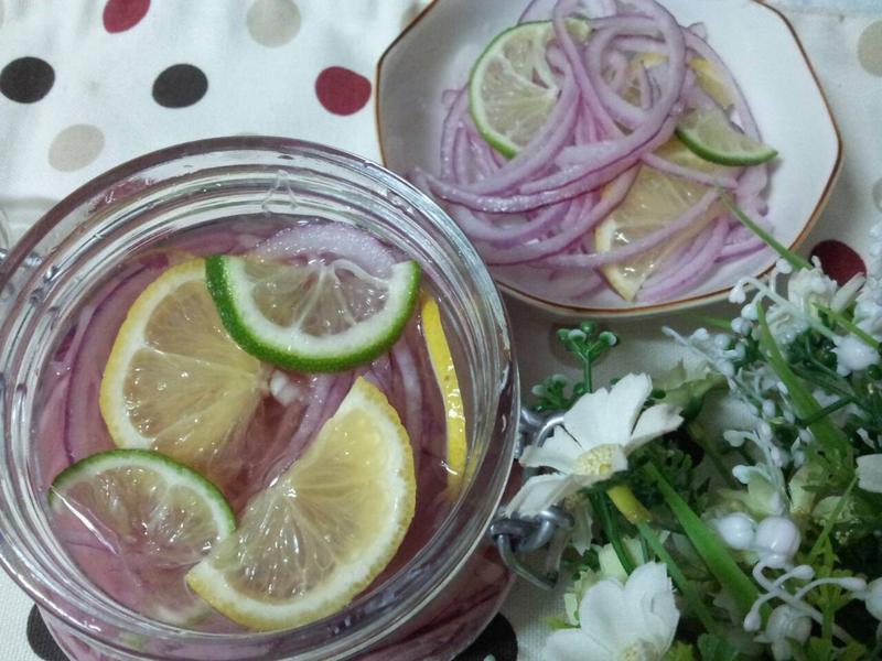 雙檸香漬紫洋蔥