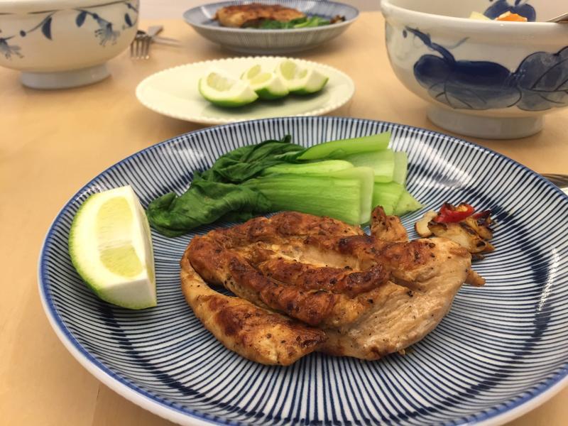 【低卡美味】—檸檬香煎雞胸肉