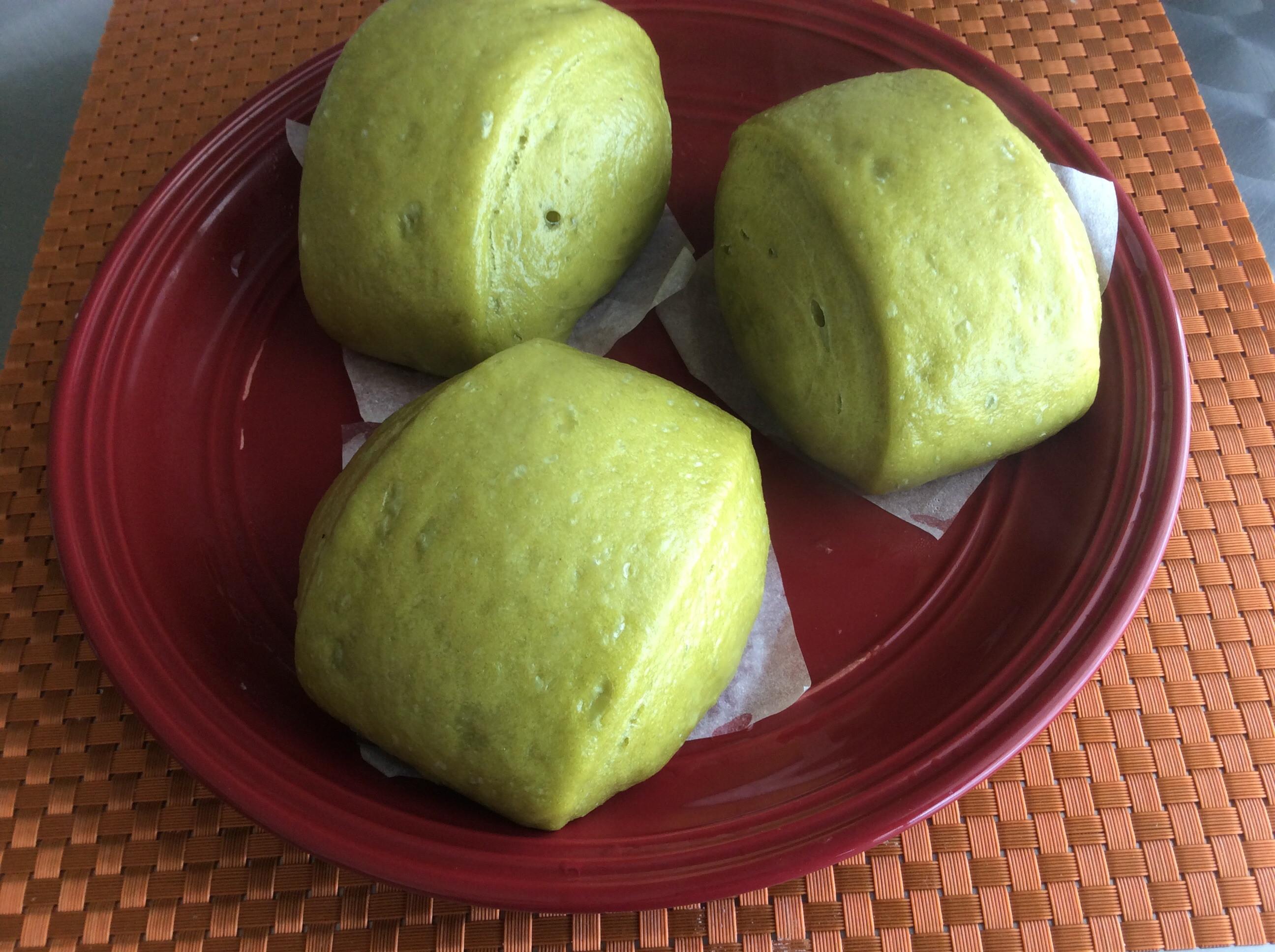 老麵菠菜饅頭