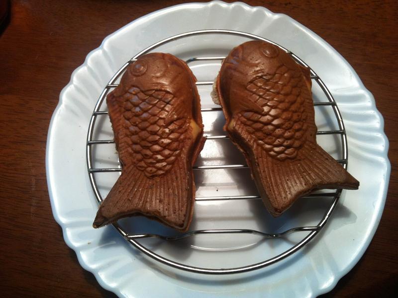 紅豆元宵鯛魚燒[鬆餅機]