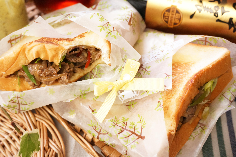 壽喜燒口袋三明治-淬釀醬油露