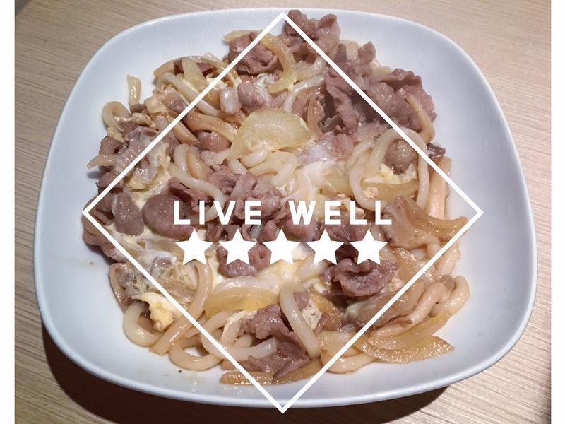 豬肉丼烏龍麵