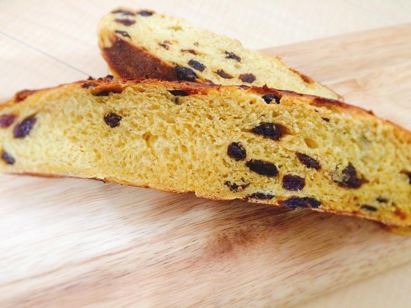 地瓜葡萄乾麵包