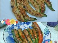 羊角椒2吃~乾煎+醬燒